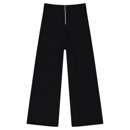 Junior - Pantalon large 7/8ème en nid d'abeille