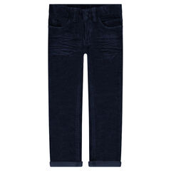 Junior - Pantalon en velours effet crinkle