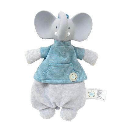 Doudou Alvin l'éléphant - Bleu