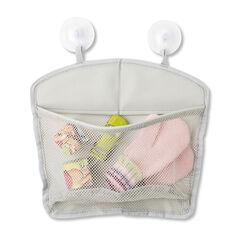 Panier range jouets de bain - Gris