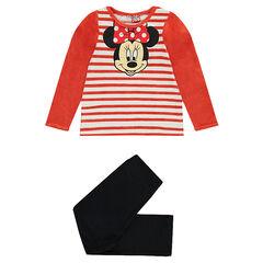 Pyjama long en velours Disney Minnie