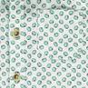 Chemise manches courtes imprimée kiwis all-over