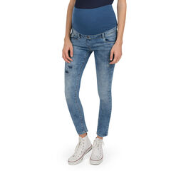 Jeans de grossesse effet used slim