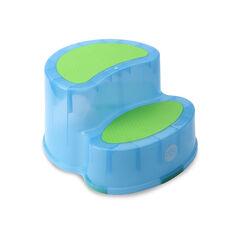 Marche pied antidérapant - Bleu translucide