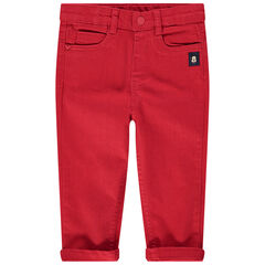 Pantalon rouge à empiècements Mickey Disney