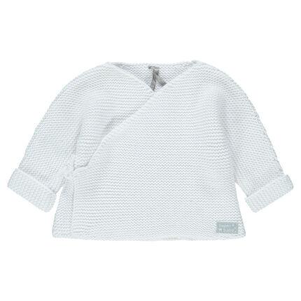 Brassière en tricot du prématuré au 3 mois