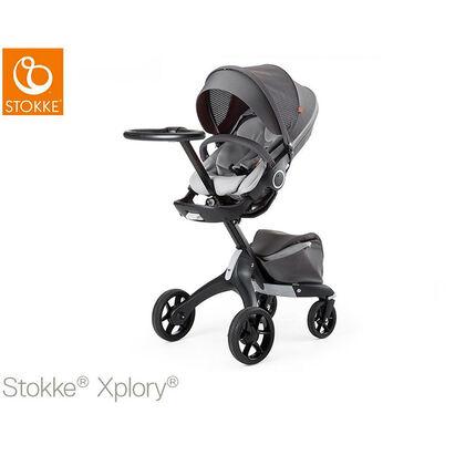 Poussette Xplory V5 - Black Athleisure/Grey