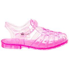 Chaussures de plage transparentes roses du 20 au 23