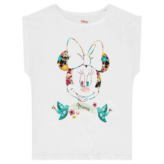 Tee-shirt manches courtes en jersey Disney print Minnie