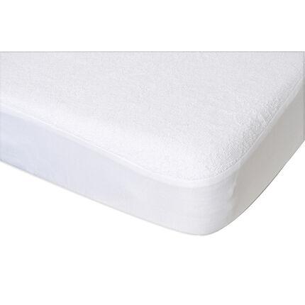 prot ge matelas bambou 70 x 140 cm blanc orchestra fr. Black Bedroom Furniture Sets. Home Design Ideas