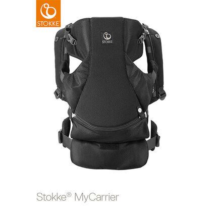 Porte-bébé ventral MyCarrier – Maille Noir