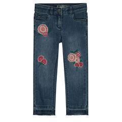Jeans effet used avec déchirures