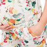 Combinaison courte de grossesse imprimée all-over