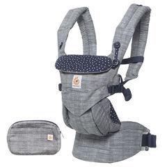 Porte-bébé Omni 360 - Gris/bleu étoilé