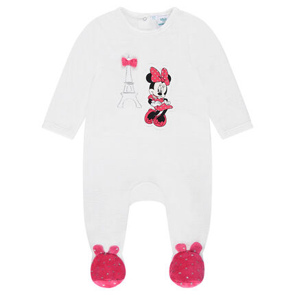 Dors-bien en velours Disney print Minnie