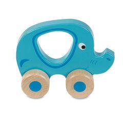 Hochet Éléphant roller - Turquoise