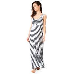 Robe longue de grossesse et d'allaitement