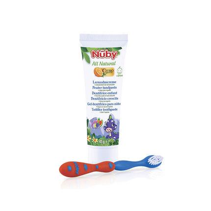 Pack dentaire Brosse à dents + dentifrice enfant
