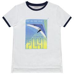 T-shirt manches courtes print deltaplane  , Orchestra