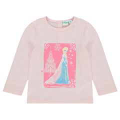 Tee-shirt print Disney la Reine des Neiges