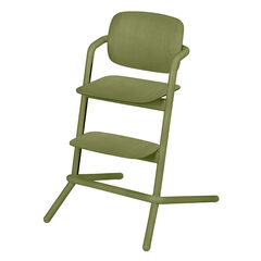 Chaise haute évolutive Lemo Wood - Outback Green
