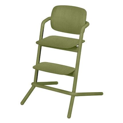 Chaise haute évolutive Lemo Wood - Outback Green