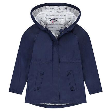 Junior - Coupe-vent en gomme doublé jersey