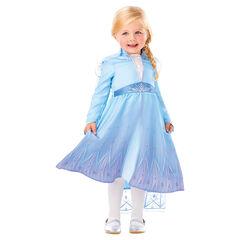 Déguisement Robe d'Elsa Reine des neiges taille unique 2-3 ans , Rubie'S