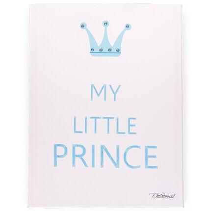 Cadre My little prince 30x40 cm - Blanc/Bleu