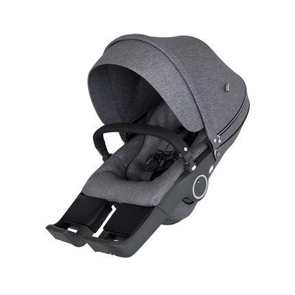 Siège de poussette Xplory V6 – Black Mélange