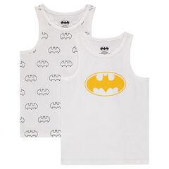 Lot de 2 maillots de corps forme débardeur ©Warner Batman
