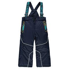 Pantalon de ski uni à bretelles amovibles