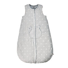 Gigoteuse Mix & Match en jersey gris clair - 70 cm
