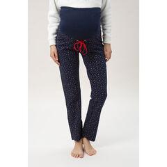 Pantalon homewear de grossesse imprimé étoiles