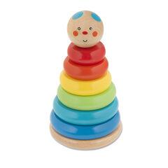 Tour d'éveil en bois Nounours - Multicolore