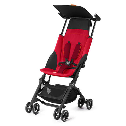 Poussette canne Pockit+ - Dragonfire Red