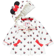 Parka à capuche imprimée Minnie Disney pour bébé fille , Orchestra