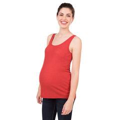 Débardeur de grossesse côtelé uni