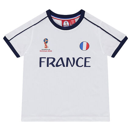 Junior - Tee-shirt manches courtes COUPE DU MONDE DE FOOTBALL 2018 - FRANCE