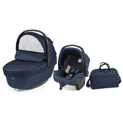 Set XL nacelle+ siège-auto+sac à langer -Geo navy