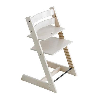 Chaise haute Tripp Trapp - Blanchie