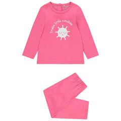 Pyjama en jersey print soleil