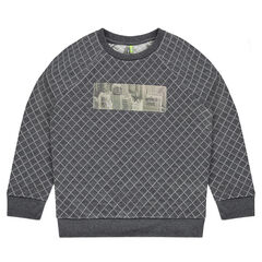 Junior - Sweat en molleton avec patch hologramme