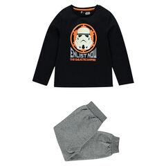 Pyjama en jersey Star Wars™ print Stormtrooper