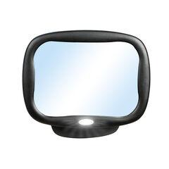 Rétroviseur miroir avec lumière LED et télécommande