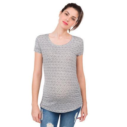 Lot de 2 tee-shirt manches courtes imprimé/uni