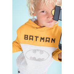 Sweat en molleton bicolore motif Batman