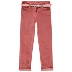 Pantalon en velours à ceinture amovible