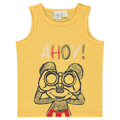 Débardeur en jersey slub Disney print Mickey