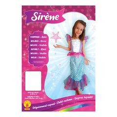 Déguisement de sirène taille 3-4 ans , Rubie'S
